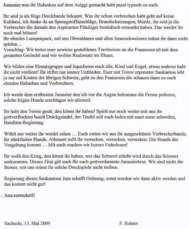Les suisses adooooorent les Jurassiens! Lettreschwyzpetite